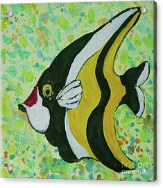 Tropical Fish Series 1 Of 4 Acrylic Print