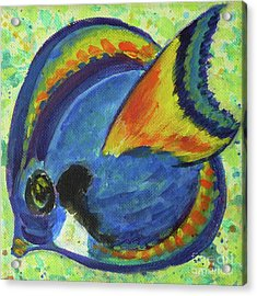 Tropical Fish Series 3 Of 4 Acrylic Print