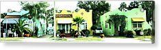 Tropical Homes Acrylic Print