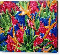 Tropical Acrylic Print by Jamie Frier