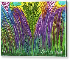 Tropical Jungle Acrylic Print