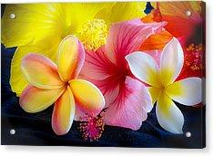 Tropical Melange Acrylic Print
