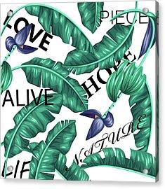 Tropical New  Acrylic Print