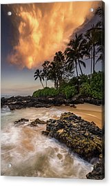 Acrylic Print featuring the photograph Tropical Nuclear Sunrise by Pierre Leclerc Photography