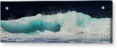 Tropical Ocean Surf Acrylic Print by Scott Cameron