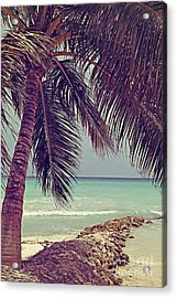 Tropical Ocean View Acrylic Print