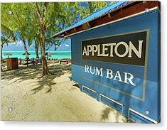 Tropical Rum Bar Acrylic Print