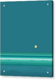 Tropical Sea Acrylic Print