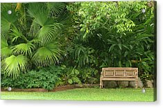 Tropical Seat Acrylic Print