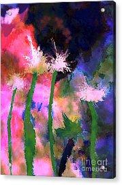 Tropical Storm Acrylic Print by Mimo Krouzian