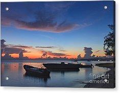 Tropical Twilight Two Acrylic Print
