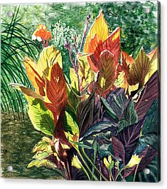 Tropical Vacation Acrylic Print by Vicky Lilla