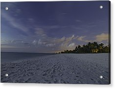 Tropical Winter Acrylic Print by Christopher L Thomley