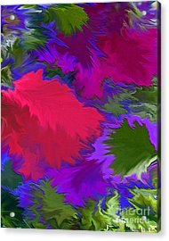 Acrylic Print featuring the photograph Tropicana by Patricia Griffin Brett