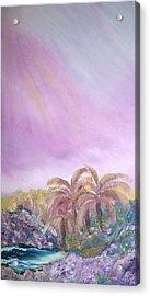 Tropics Acrylic Print by Ellen Young