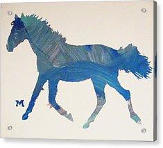 Trotter Acrylic Print