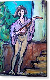 Troubadour Acrylic Print by Kevin Middleton