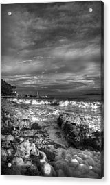 Trouble Water Acrylic Print by Yannick Faure