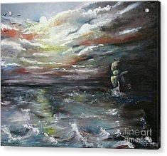 Troubled Waters Complete Acrylic Print