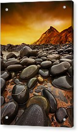 Troublesome Sky Acrylic Print by Mark Leader