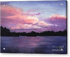 Trout Lake Sunset I Acrylic Print