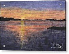 Trout Lake Sunset II Acrylic Print