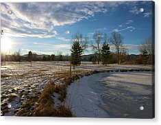 Troutman Park Acrylic Print by Christopher Wood