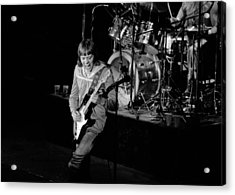 Trower At Winterland Acrylic Print by Ben Upham