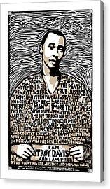 Troy Davis Acrylic Print