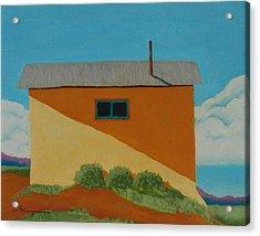 Truchas House Acrylic Print