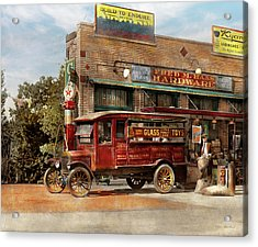 Truck - Delivery - Haas Has It 1924 Acrylic Print