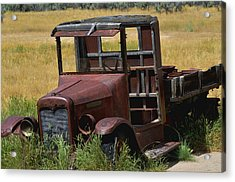 Truck Long Gone Acrylic Print