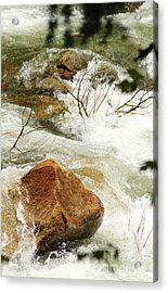 Truckey River Acrylic Print