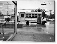 Truckin' In The Rain Acrylic Print