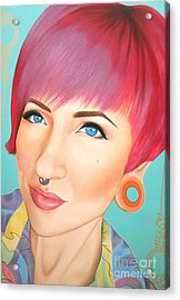 True Beauty - Jerica Wentzell Acrylic Print