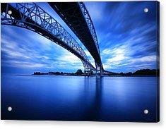 True Blue View Acrylic Print by Gordon Dean II