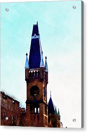 Acrylic Print featuring the photograph True Colors - Scranton by Janine Riley