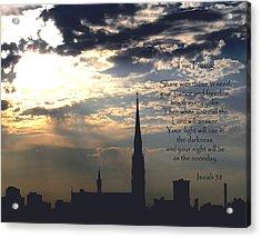 True Fasting Acrylic Print