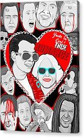 True Romance Acrylic Print by Gary Niles