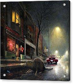 True Story Acrylic Print by Martin Tielli