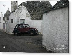 Trully's Acrylic Print by Dennis Curry
