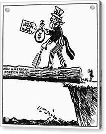 Truman Doctrine Cartoon Acrylic Print by Granger