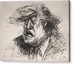 Trump Harmful Ignorant Acrylic Print