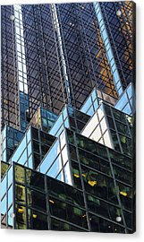 Acrylic Print featuring the photograph Trump Tower by Mitch Cat