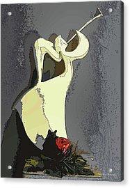 Trumpet Of Joy Acrylic Print