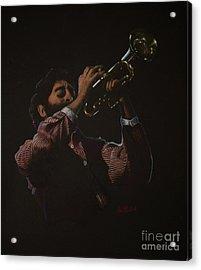 Trumpeteer Acrylic Print