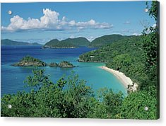 Trunk Bay And Beach Acrylic Print