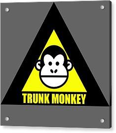 Trunk Monkey Acrylic Print
