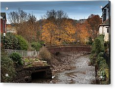 Acrylic Print featuring the photograph Truro River by Brian Roscorla