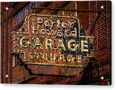 Acrylic Print featuring the photograph Trust In Rust by Linda Unger